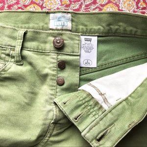 Levi's Corduroy Mini Skirt